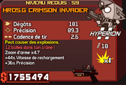 HRD5.G Crimson Invader
