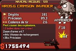 HRD5.G Crimson Invader