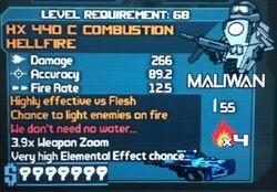 HX 440 C COMBUSTION HELLFIREB4