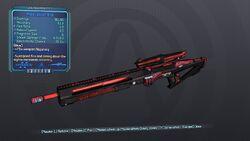 Power Sniper Rifle 70D Blue Shock