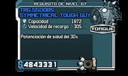 TRG-550OBS Symmetrical Tough Guy Shield