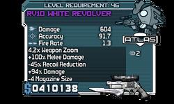 RV10 White Revolver
