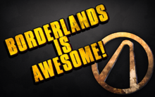 Borderlands logo recreation by skysnd-d58b9mp2