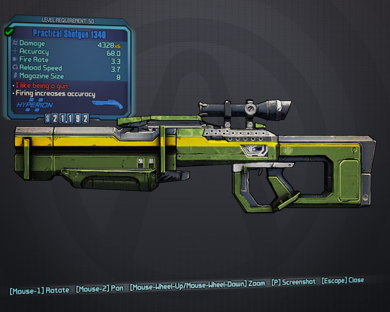 "Shotgun 1340. """