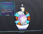 BorderlandsPreSequel щит Огненная Волна (26) фиолет