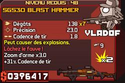 SG530 Blast Hammer (B)