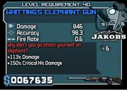 40 whitting's elephant gun*