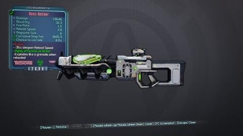 Borderlands 2 Pirate's Booty - Retcher Pink Seraph Shotgun