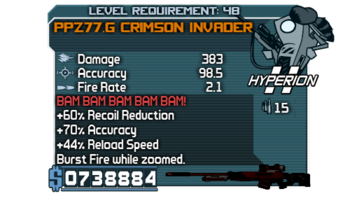 PPZ77.G Crimson Invader
