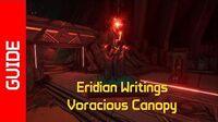 Voracious Canopy Eridian Writings