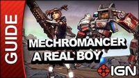 A Real Boy Clothes Make the Man – Mechromancer Walkthrough