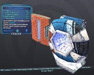 BorderlandsPreSequel щит Ледяная волна (29) синий