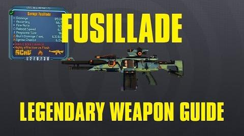 Fusillade Legendary Scav Assault Rifle Claptastic Voyage DLC Borderlands The Pre-Sequel!