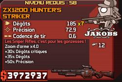 ZX1200 Hunter's Striker