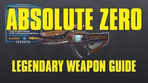 Absolute Zero Legendary Maliwan Laser Claptastic Voyage DLC Borderlands The Pre-Sequel!