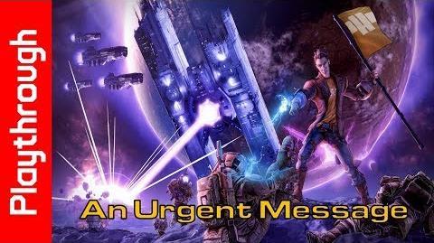 An Urgent Message