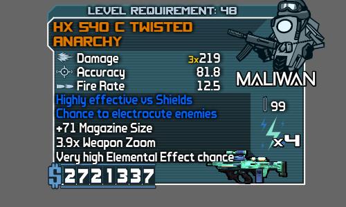 HX 540 C Twisted Anarchy