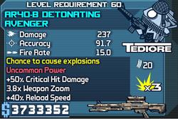 AR40-B Detonating Avenger OBYZ