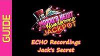ECHO Recordings (Jack's Secret)