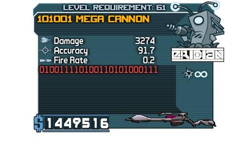 101001 Mega Cannon