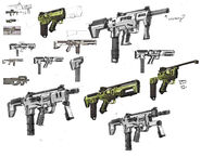 Dahl SMG sketches