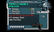 V3 Double Stalker