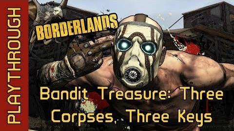 Bandit Treasure Three Corpses, Three Keys