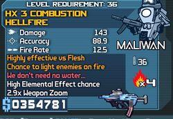 Hx 3 hellfire