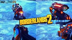 Borderlands 2 - Epic Maliwan Weapons - Animations & Sounds w Slow Motion