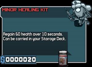 Minor healing kit