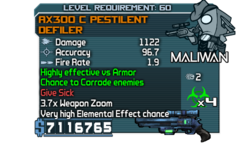 AX300 C Pestilent Defiler OBYC