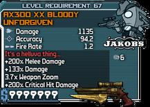 AX300 XX Bloody Unforgiven happypal
