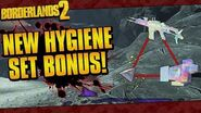 Borderlands 2 Effervescent Hygiene Set Bonus