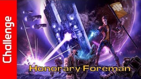Honorary Foreman