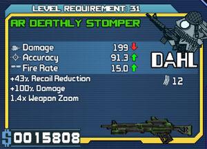 Dahl AR Deathly Stomper (R10) (L31)