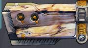 Pistol maliwan barrel