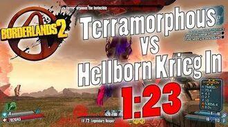 Borderlands 2 OP0 Terramorphous vs Hellborn Krieg In 1 23