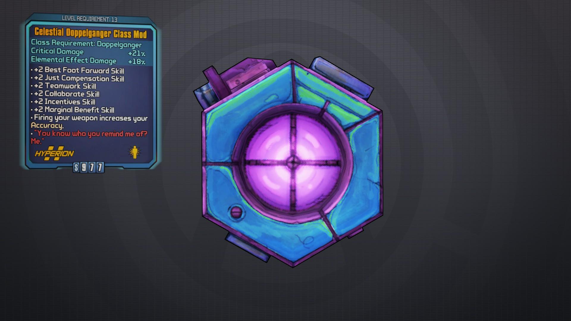 Celestial Doppelganger | Borderlands Wiki | FANDOM powered