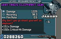 Lvl 48 elephantgun