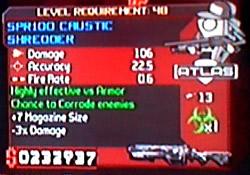 SPR100 Caustic Shredder