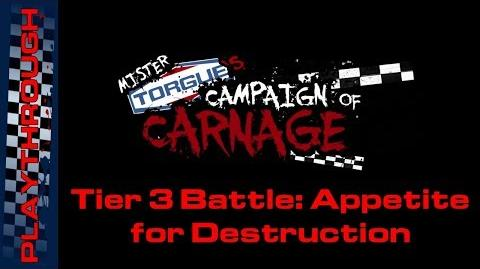 Tier 3 Battle Appetite for Destruction