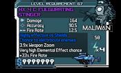 HX 4 C Fulgurating Stinger