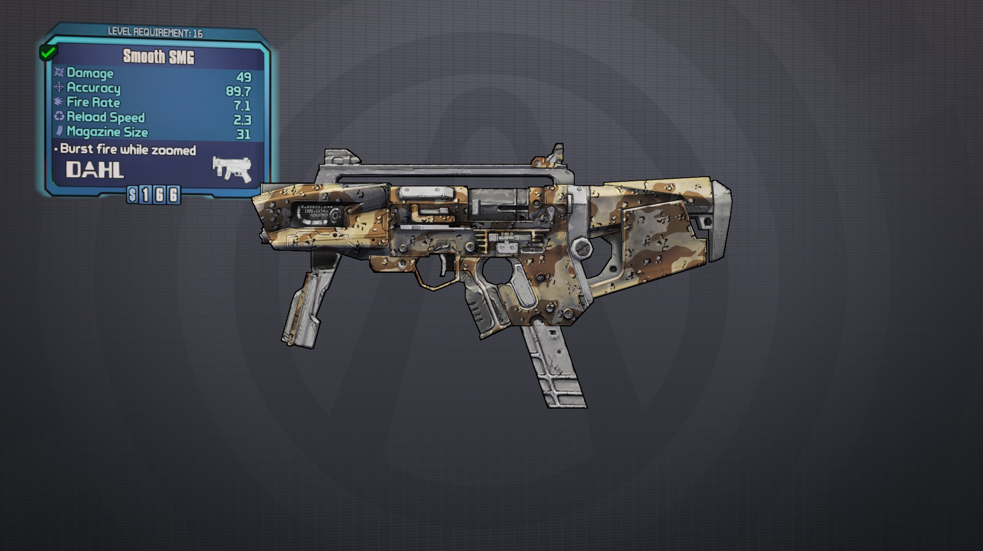 SMG (Borderlands 2) | Borderlands Wiki | FANDOM powered by ...