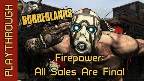 Firepower All Sales Are Final