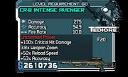 CR-B Intense Avenger