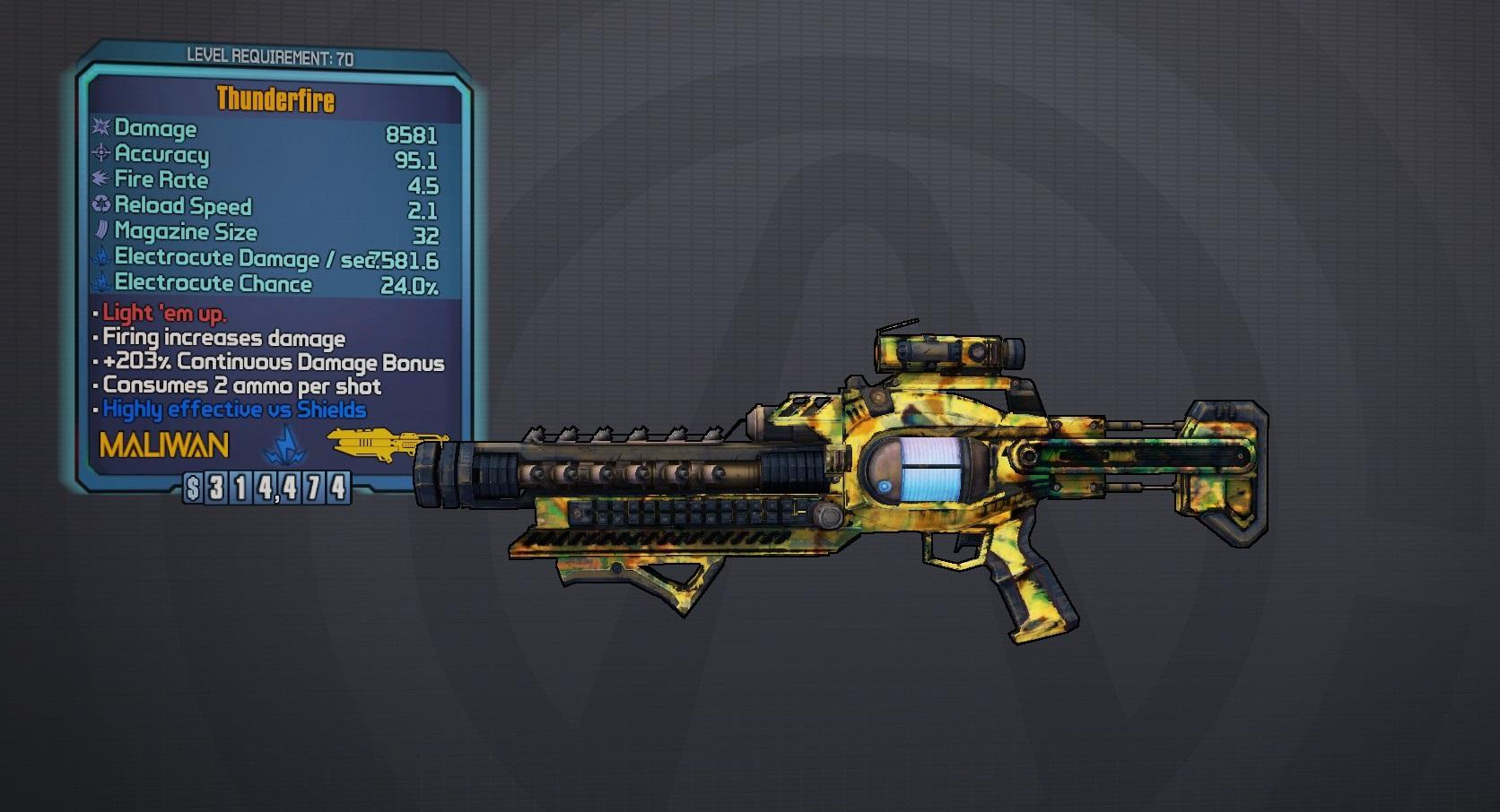 Borderlands The Pre Sequel Laser Weapons
