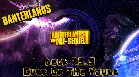 Cult of the Vault locations (Borderlands- The Pre-Sequel)
