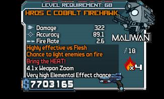 HRD5 C Cobalt Firehawk