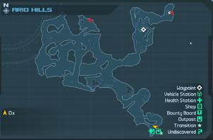 Map AridHills