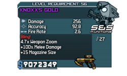 Fry Knoxx's Gold 2